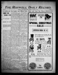 Roswell Daily Record, 12-18-1905 by H. E. M. Bear