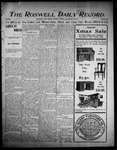 Roswell Daily Record, 12-19-1905 by H. E. M. Bear