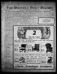 Roswell Daily Record, 12-21-1905 by H. E. M. Bear