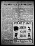 Roswell Daily Record, 12-22-1905 by H. E. M. Bear