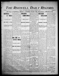 Roswell Daily Record, 12-26-1905 by H. E. M. Bear