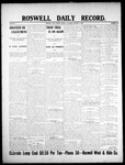 Roswell Daily Record, 01-06-1908 by H. E. M. Bear