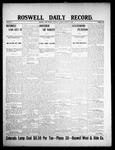 Roswell Daily Record, 01-07-1908 by H. E. M. Bear
