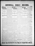 Roswell Daily Record, 01-08-1908 by H. E. M. Bear