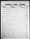Roswell Daily Record, 01-09-1908 by H. E. M. Bear