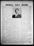 Roswell Daily Record, 01-10-1908 by H. E. M. Bear