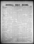 Roswell Daily Record, 01-11-1908 by H. E. M. Bear