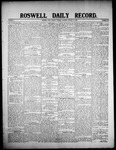 Roswell Daily Record, 01-14-1908 by H. E. M. Bear