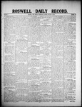 Roswell Daily Record, 01-15-1908 by H. E. M. Bear