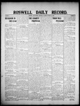 Roswell Daily Record, 01-16-1908 by H. E. M. Bear