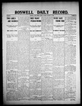 Roswell Daily Record, 01-17-1908 by H. E. M. Bear