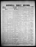 Roswell Daily Record, 01-18-1908 by H. E. M. Bear