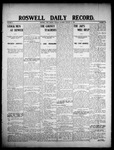 Roswell Daily Record, 01-21-1908 by H. E. M. Bear