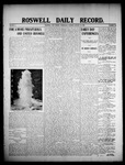 Roswell Daily Record, 01-22-1908 by H. E. M. Bear