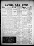 Roswell Daily Record, 01-23-1908 by H. E. M. Bear