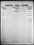 Roswell Daily Record, 01-24-1908 by H. E. M. Bear