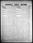 Roswell Daily Record, 01-27-1908 by H. E. M. Bear