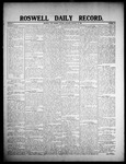 Roswell Daily Record, 01-28-1908 by H. E. M. Bear