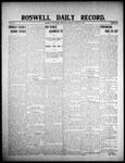 Roswell Daily Record, 01-30-1908 by H. E. M. Bear