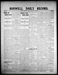 Roswell Daily Record, 01-31-1908 by H. E. M. Bear
