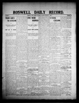 Roswell Daily Record, 02-01-1908 by H. E. M. Bear