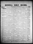 Roswell Daily Record, 02-03-1908 by H. E. M. Bear