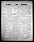 Roswell Daily Record, 02-06-1908 by H. E. M. Bear
