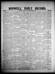 Roswell Daily Record, 02-07-1908 by H. E. M. Bear