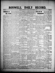 Roswell Daily Record, 02-08-1908 by H. E. M. Bear