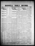 Roswell Daily Record, 02-10-1908 by H. E. M. Bear