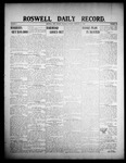 Roswell Daily Record, 02-11-1908 by H. E. M. Bear