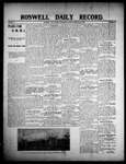 Roswell Daily Record, 02-12-1908 by H. E. M. Bear