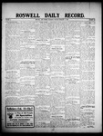Roswell Daily Record, 02-13-1908 by H. E. M. Bear