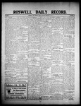 Roswell Daily Record, 02-14-1908 by H. E. M. Bear