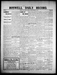 Roswell Daily Record, 02-15-1908 by H. E. M. Bear