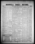 Roswell Daily Record, 02-17-1908 by H. E. M. Bear