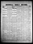 Roswell Daily Record, 02-25-1908 by H. E. M. Bear