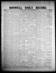 Roswell Daily Record, 02-26-1908 by H. E. M. Bear