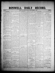 Roswell Daily Record, 02-27-1908 by H. E. M. Bear