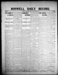 Roswell Daily Record, 03-02-1908 by H. E. M. Bear