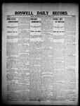 Roswell Daily Record, 03-03-1908 by H. E. M. Bear