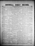 Roswell Daily Record, 03-06-1908 by H. E. M. Bear