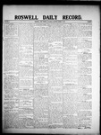 Roswell Daily Record, 03-07-1908 by H. E. M. Bear