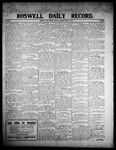 Roswell Daily Record, 03-09-1908 by H. E. M. Bear