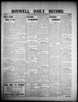 Roswell Daily Record, 03-10-1908 by H. E. M. Bear