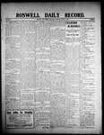 Roswell Daily Record, 03-11-1908 by H. E. M. Bear