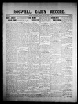 Roswell Daily Record, 03-12-1908 by H. E. M. Bear