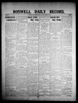 Roswell Daily Record, 03-13-1908 by H. E. M. Bear
