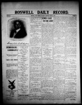 Roswell Daily Record, 03-14-1908 by H. E. M. Bear