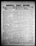 Roswell Daily Record, 03-16-1908 by H. E. M. Bear